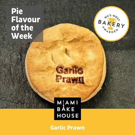 The legendary Garlic Prawn Pie is back at Miami Bakehouse.