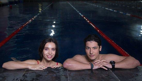 В бассейне под открытым небом Чайка всегда комфортно! Вода круглый год +28 градусов!
