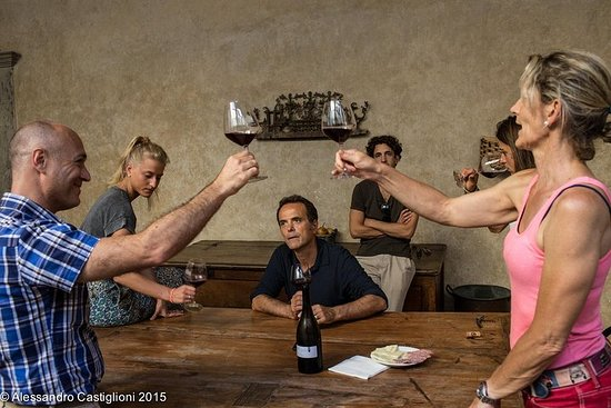 Cata de Chianti Wine y EVO Oil en un...