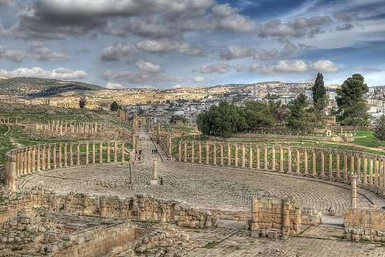 Jerash, Ajloun y Umm Quais Tour de día...