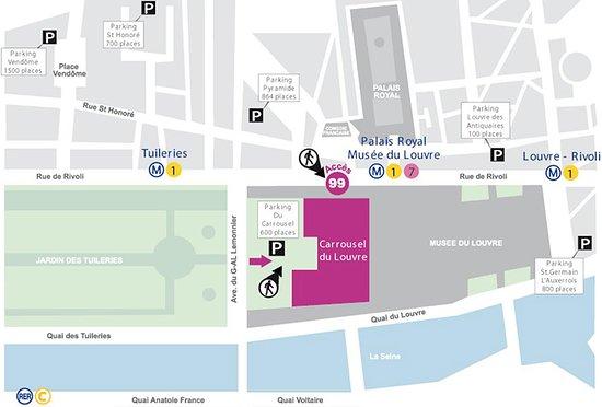 Louvre Museum Direct Entry Ticket: Шаг 1.  Заходите в ТЦ (чуть правее арки входа в Лувр)  Вот именно через этот торговый центр можно попасть в Лувр без громадных очередей, так как далеко не все знают этот маршрут. НО! это можно сделать только имея уже билет на руках