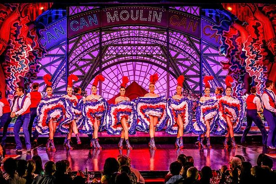 Espetáculo Moulin Rouge: assentos VIP...