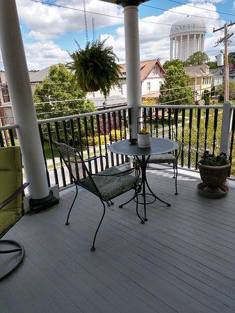 Guest porch