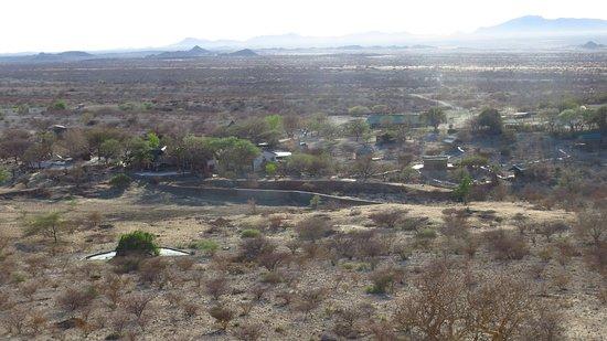 Karibib, Namibia: View from the marble koppie