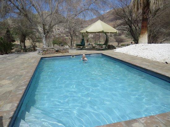 Karibib, Namibia: Swimming pool