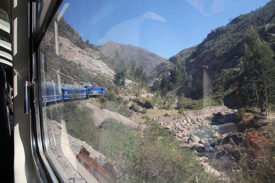 Trenino tratto Cuczo-Agua Caliente