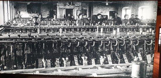 Antica immagine - Filatoio di Caraglio - Caraglio - CN
