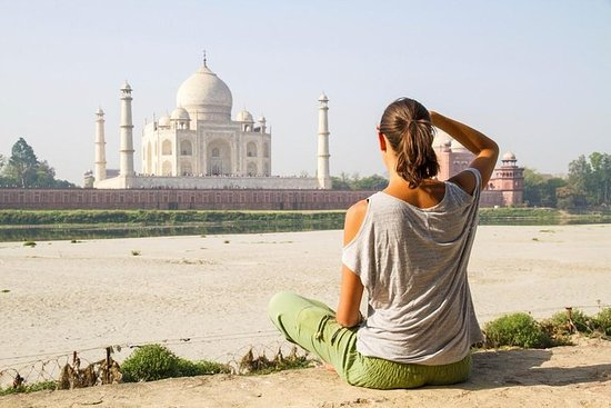 2-Day Golden Triangle Tour to The Taj Mahal, Agra and Jaipur from Delhi by Car – fénykép