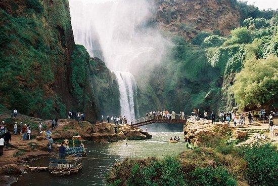 Führung durch die Ouzoud-Wasserfälle...