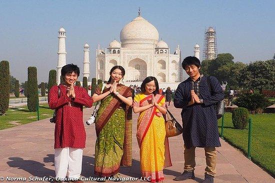 02h30: Taj Mahal Lever du soleil et...