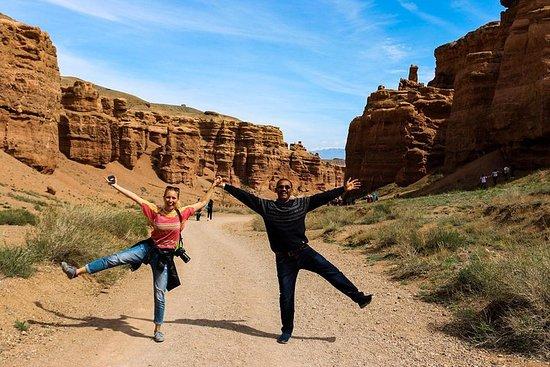 Charyn Canyon - et sted hvor tiden...