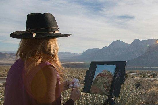 Excursion de peinture et de randonnée dans le Snow Canyon (Utah)