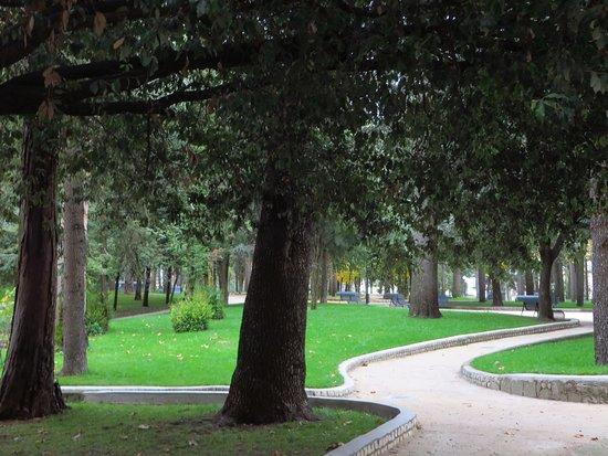 La zona sud-occidentale del parco