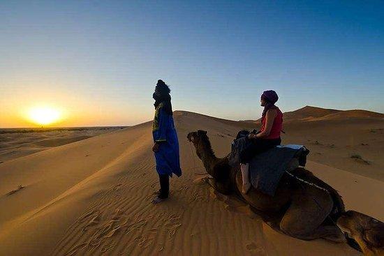 Tour privato di un'intera giornata nel deserto di Merzouga da