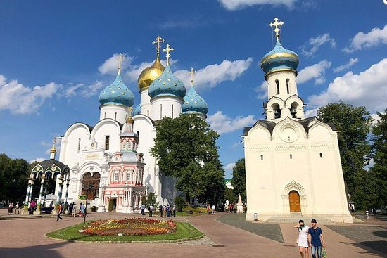 Utflukt i den gyldne ringen - Vladimir - Suzdal - Sergiev Posad