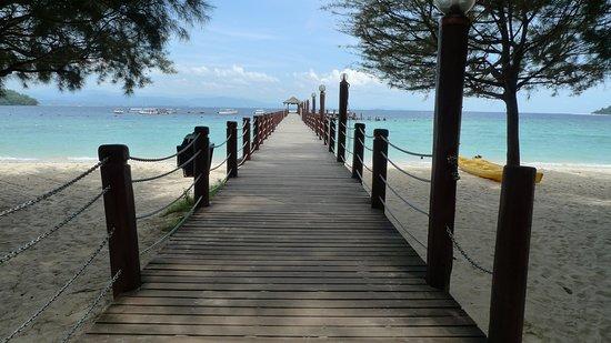Pulau Manukan, Maleisië: BEACH DAY