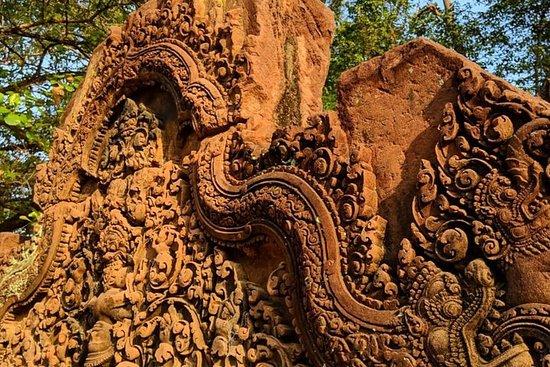 Tour du cercle extérieur d'Angkor Vat...