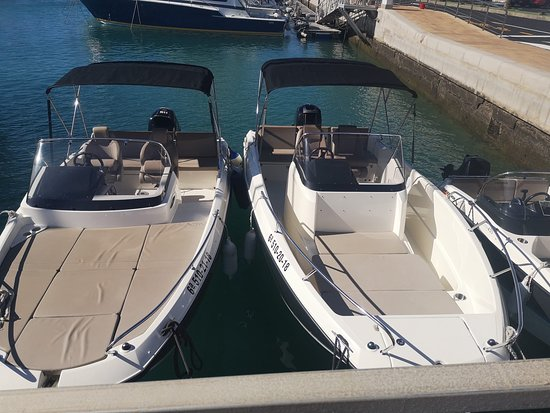 The choice of boats to rent