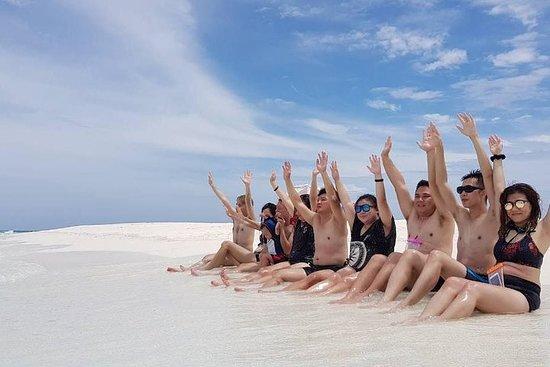 Sandbank, plongée en apnée, croisière...