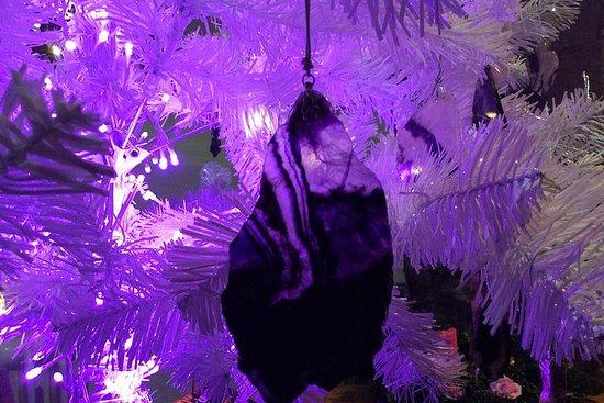 Cavern Tour with Make a Blue John Stone Christmas Decoration
