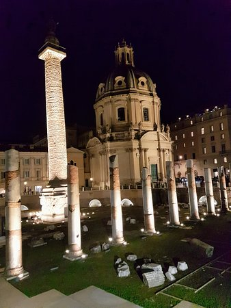 Columna de Trajano en el Palatino