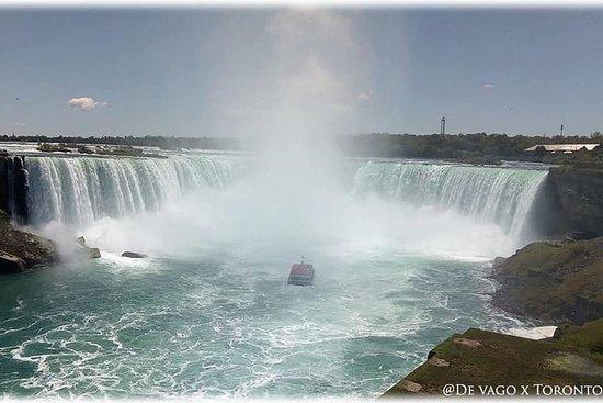 Recorre las Cataratas del Niagara y...