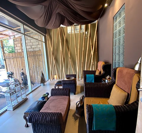 Bamboo Bali Spa: Menicure and Pedicure Corner