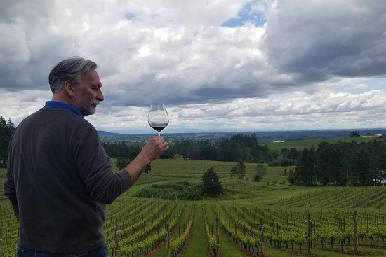 Utforsk viner fra Oregon's Willamette Valley