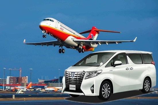 Privat ankomstoverføring fra Fuzhou Changle flyplass til Fuzhou City...