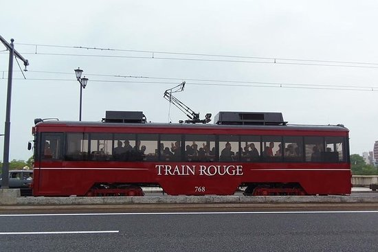 Enjoy meal in luxurious Streetcar in Hiroshima (Only group) Resmi