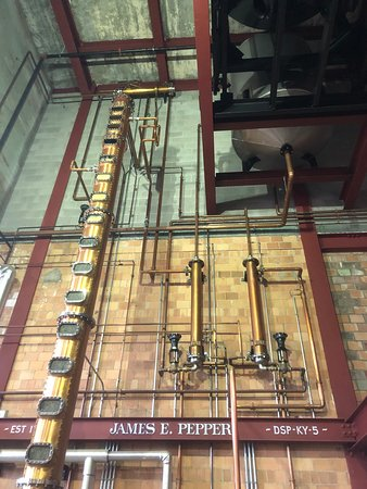 Guided Tour of James E. Pepper Distillery Ticket: The still