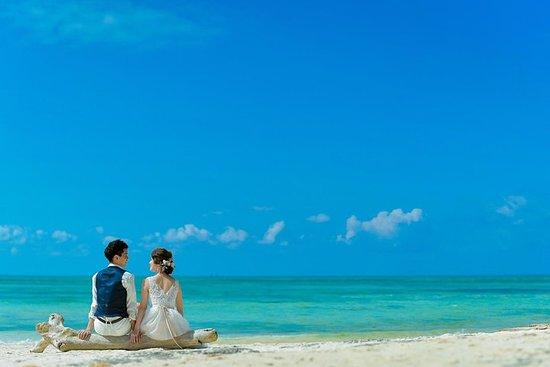 Foto di pre-matrimonio e ritratti di famiglia sulla spiaggia di