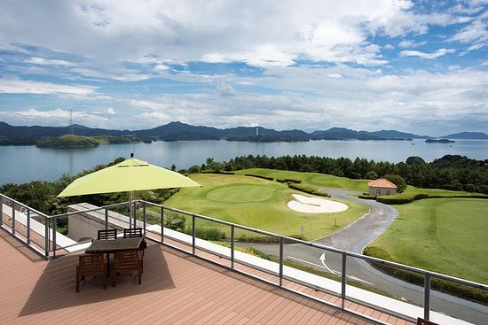 Enjoy golf and BBQ with landscaped islands and calm blue waters in...