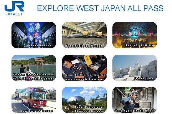 JR West Official: Explorez l'ouest du Japon All Pass