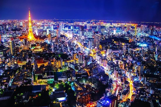 """Tokyo Night Private Tour with Transfer. """"Sky Deck of Roppongi Hils"""" صورة فوتوغرافية"""