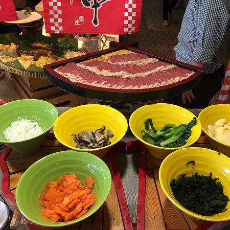 Good taste at Vasa Hotel Christmas Day.  Yummy Time. Korean Food And Japanese Food. Excellent taste  thanks Mrs Rini.