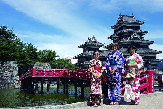 松本城町の着物&忍者コスチュームレンタル