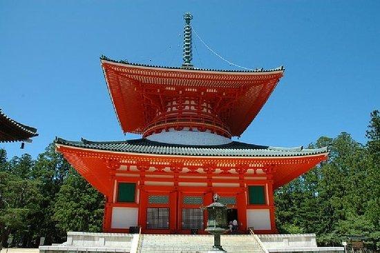Mt. Koya 1 Tagesausflug - Okunoin-Tempel und Tempel von Danjo Garan...