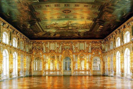 Tour zum Schloss Peterhof und...
