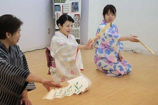 Nihon Buyo Dance Experience i Tokyo