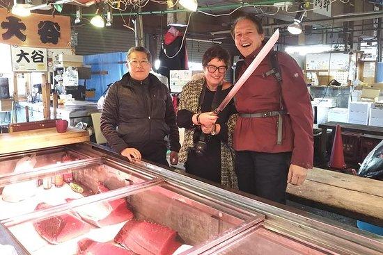 Tour locale di mezza giornata a Tokyo nel mercato di Adachi e