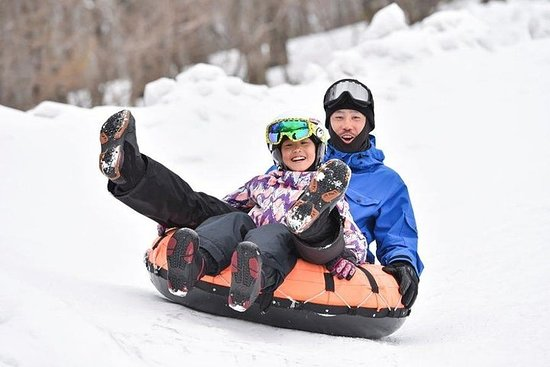 Snow sledding & Strawberry picking with Crab Lunch Buffet!