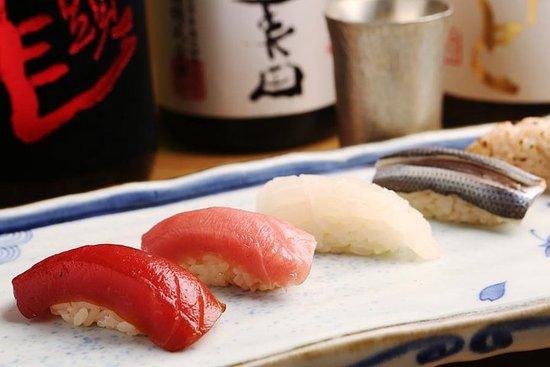 Realizzazione di sushi in autentico stile Edo