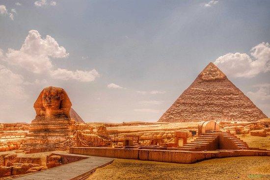 開羅Layover旅遊團參觀吉薩金字塔孟菲斯Sakkara...
