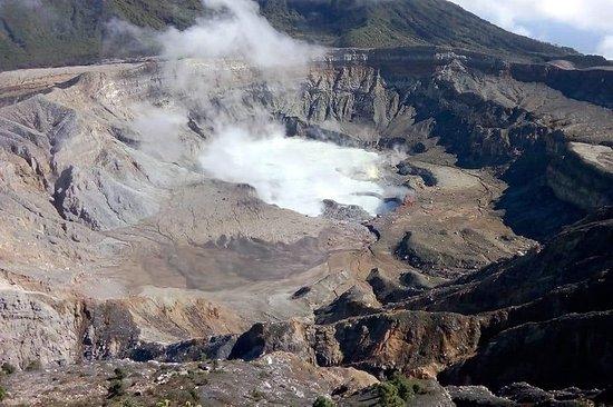 Tour de un día volcán Poás & Bosque...
