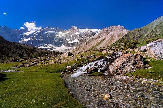 Trek de 10 jours dans la montagne...