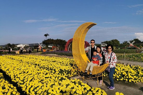 Excursión de un día de Taipei a Taichung Zhongshe Flower Market y...
