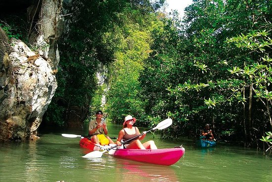 Ban Bor Thor Kayaking Full-Day Tour from Krabi including Lunch