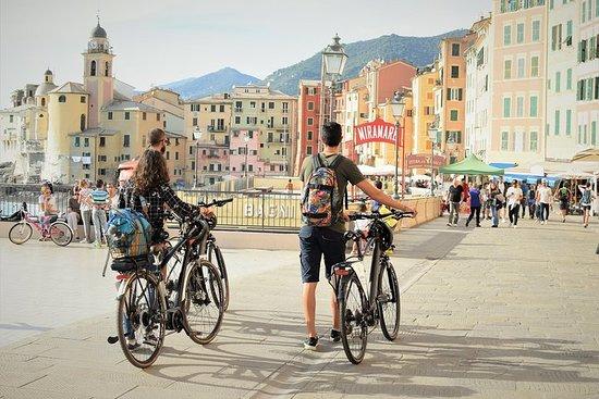 Portofino Camogli E-Bike selv guidet tur