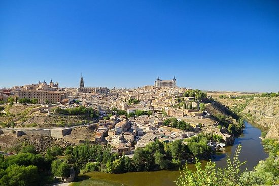 Madrid Highlights, Toledo Walking Tour...